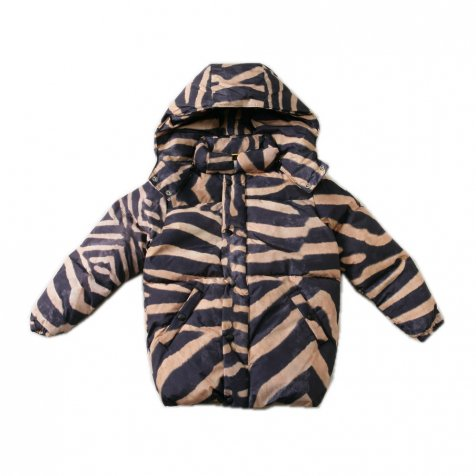 【セール40%OFF】BUBBLE JACKET ZEBRA Print
