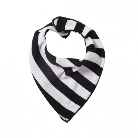 Bib Kat.Stripe White/black