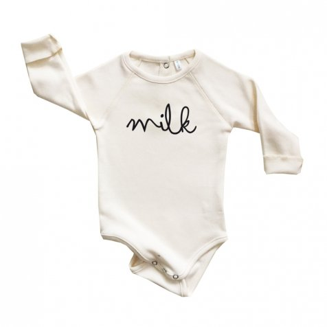 MILK BODYSUIT NATURAL