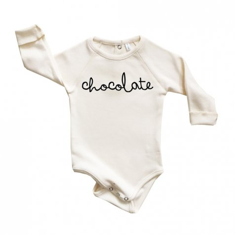 CHOCOLATE BODYSUIT NATURAL