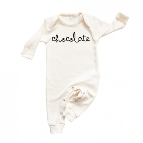 PLAYSUIT CHOCOLATE