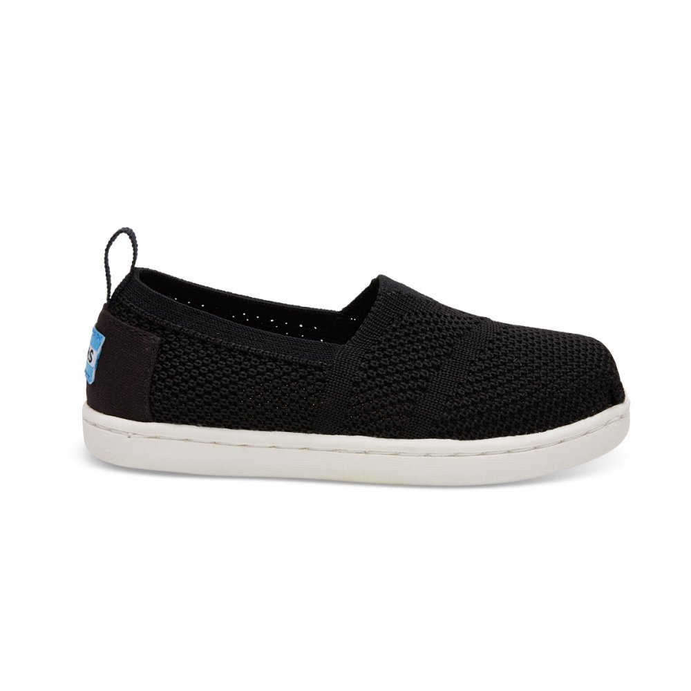 【春夏物セール30%OFF】TINY - KNIT ALPARGATA ESPADRILLE Black Mesh img1