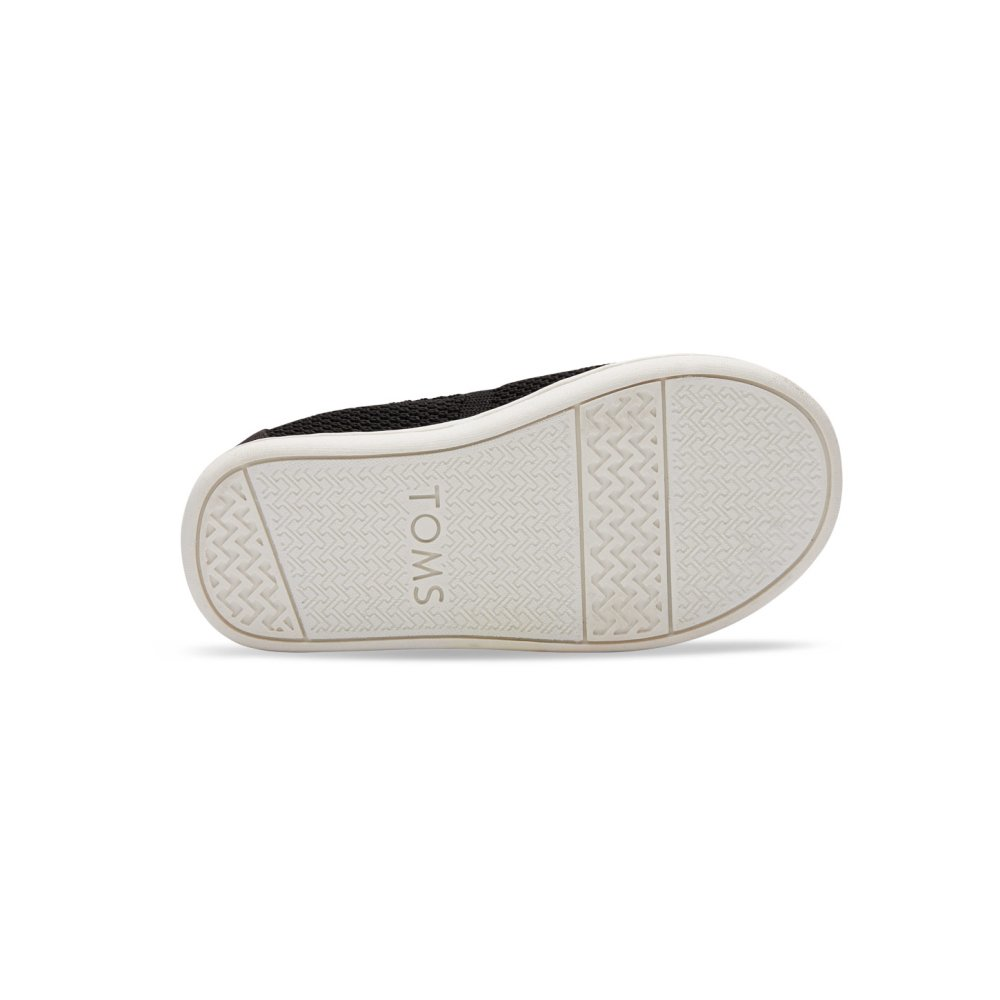 【春夏物セール30%OFF】TINY - KNIT ALPARGATA ESPADRILLE Black Mesh img4
