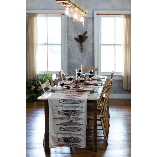 TABLE RUNNERS Feathers img3