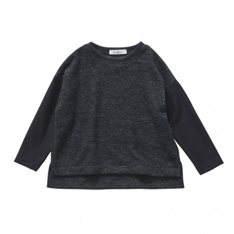 【SALE 30%OFF】melange tops charcoal