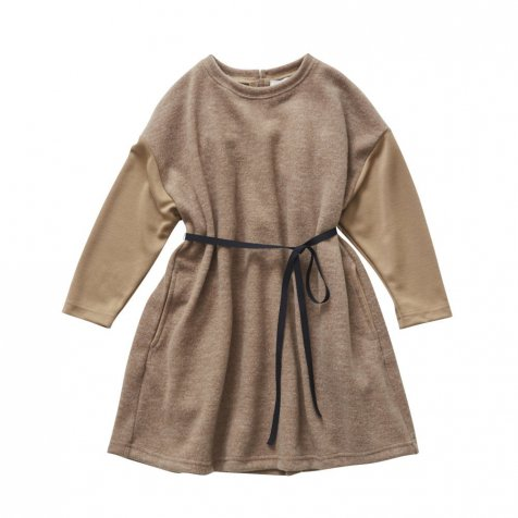 【SALE 30%OFF】melange OP camel