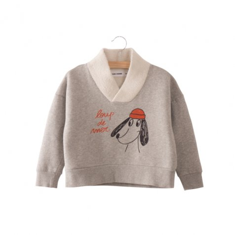 【WINTER SALE 50%OFF】2017AW No.217038 Fisherman Sweatshirt Loup de mer