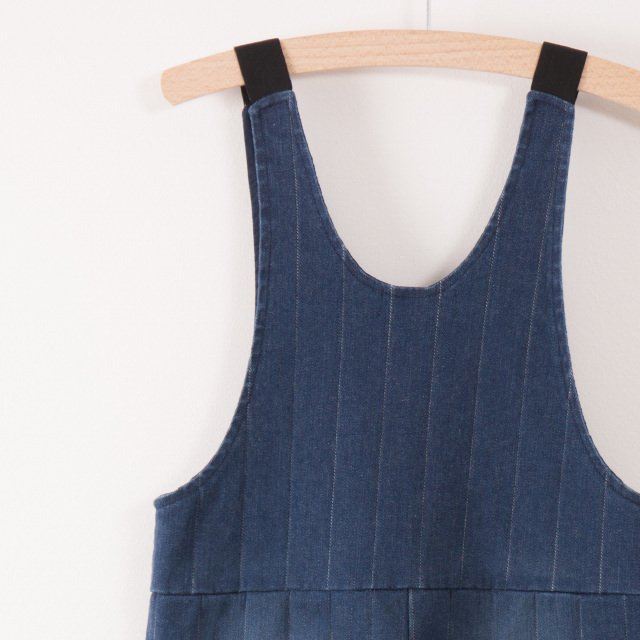 【MORE SALE 40%OFF】2017AW No.217065 Denim baggy overall img3