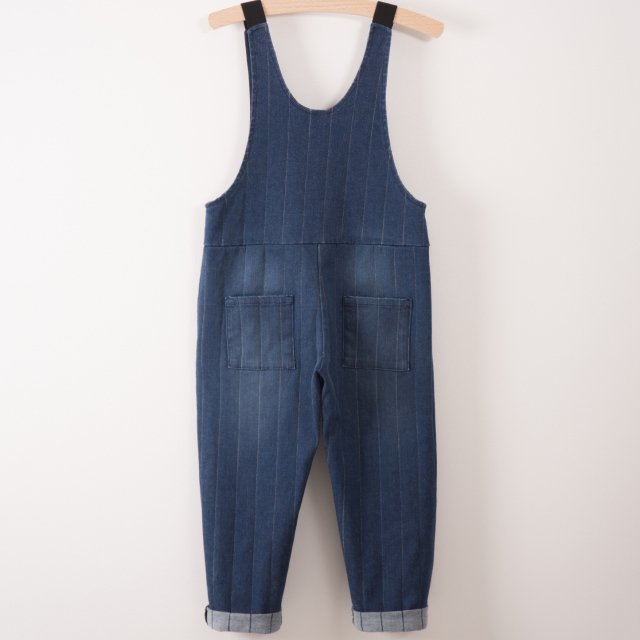 【MORE SALE 40%OFF】2017AW No.217065 Denim baggy overall img5