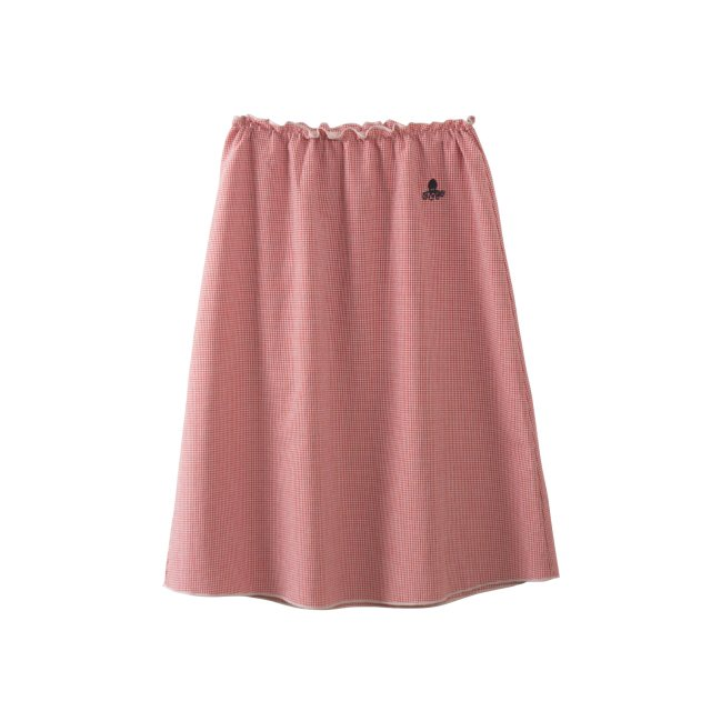【50%OFF】2017AW No.217078 Long Flared Skirt Vichy img