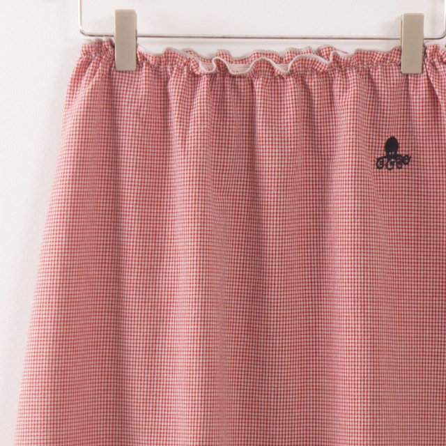 【50%OFF】2017AW No.217078 Long Flared Skirt Vichy img1