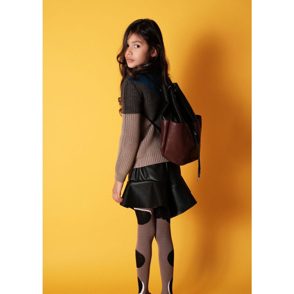【MORE SALE 40%OFF】AURELIA Shorts BLACK PU img3