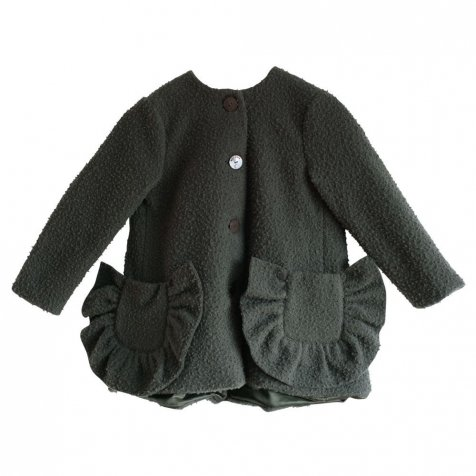 【SALE 30%OFF】ADRIANA Coat GREEN