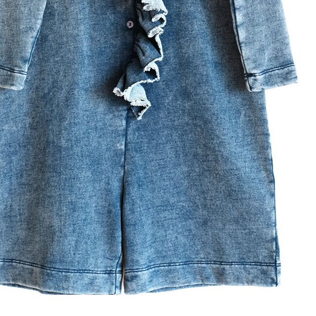 【MORE SALE 40%OFF】LIDIA Jumpsuit DENIM FLEECE img2