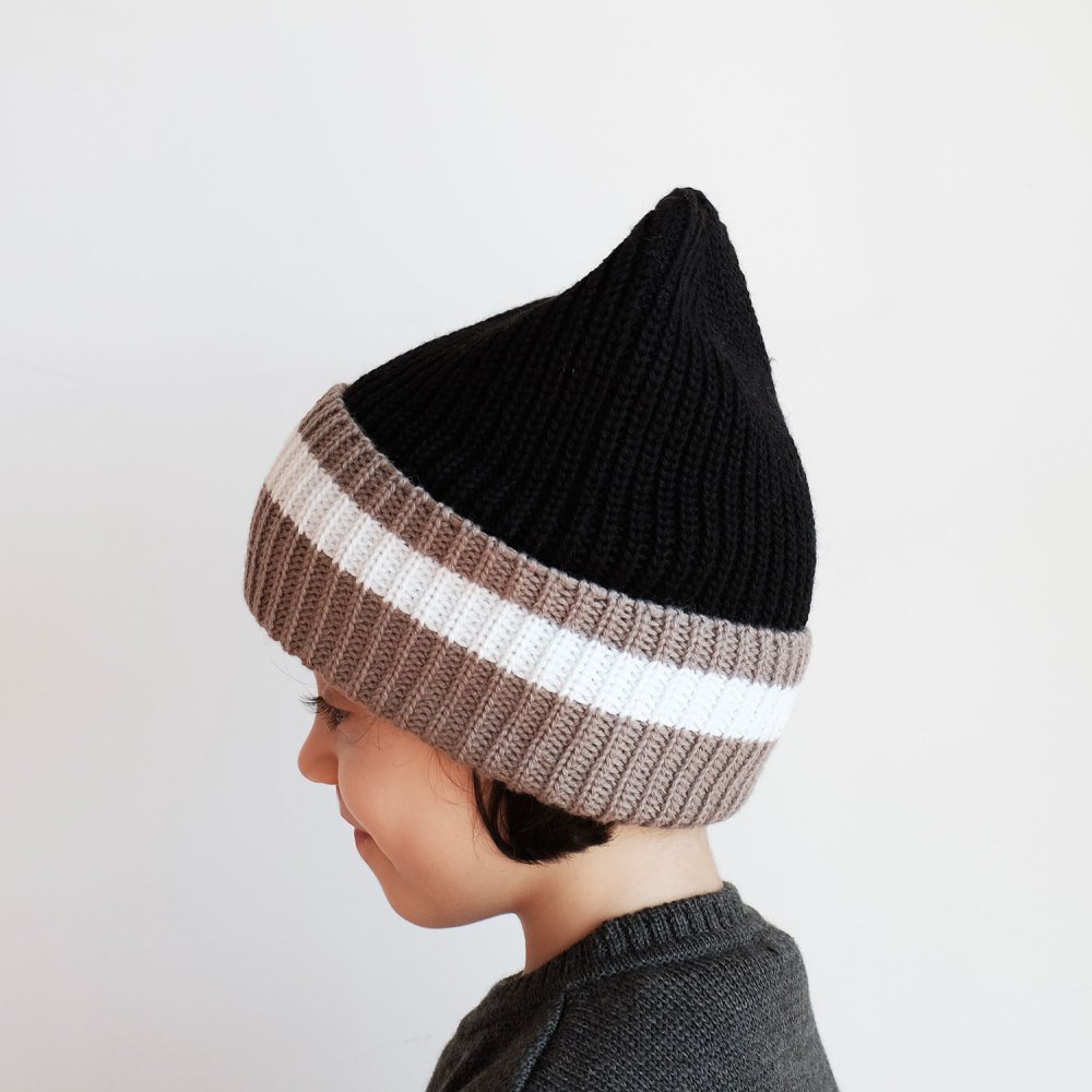 【SALE 30%OFF】MARIO Beanie BLACK GREY img