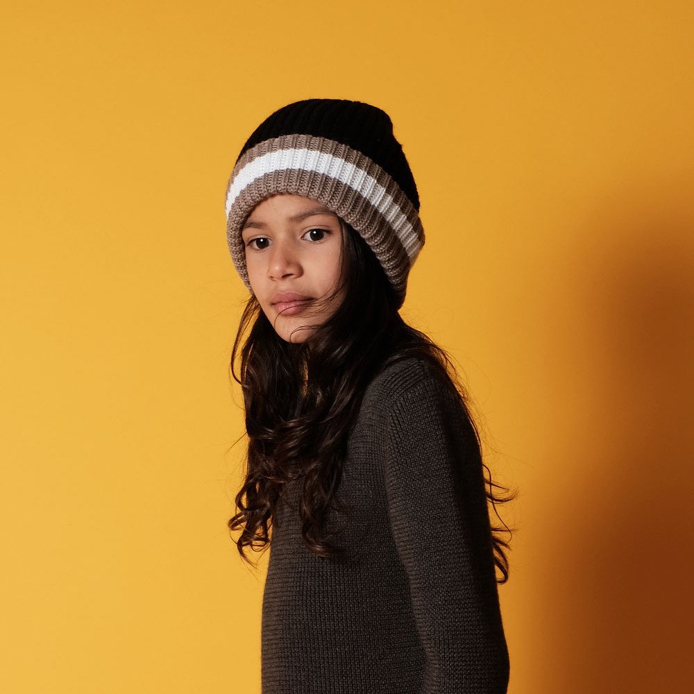 【SALE 30%OFF】MARIO Beanie BLACK GREY img4
