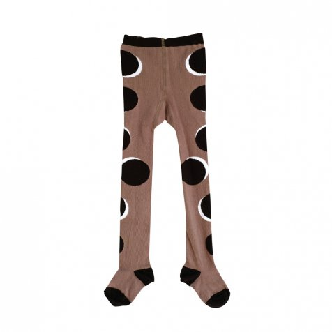 TIGHTS BLACK DOTS