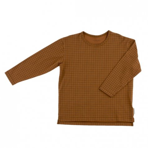 【入荷前ご予約販売-1st】No.007 grid ls relaxed tee