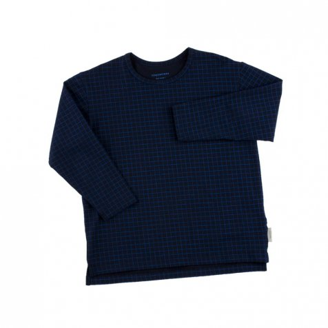 【SALE 30%OFF】No.015 grid ls relaxed tee