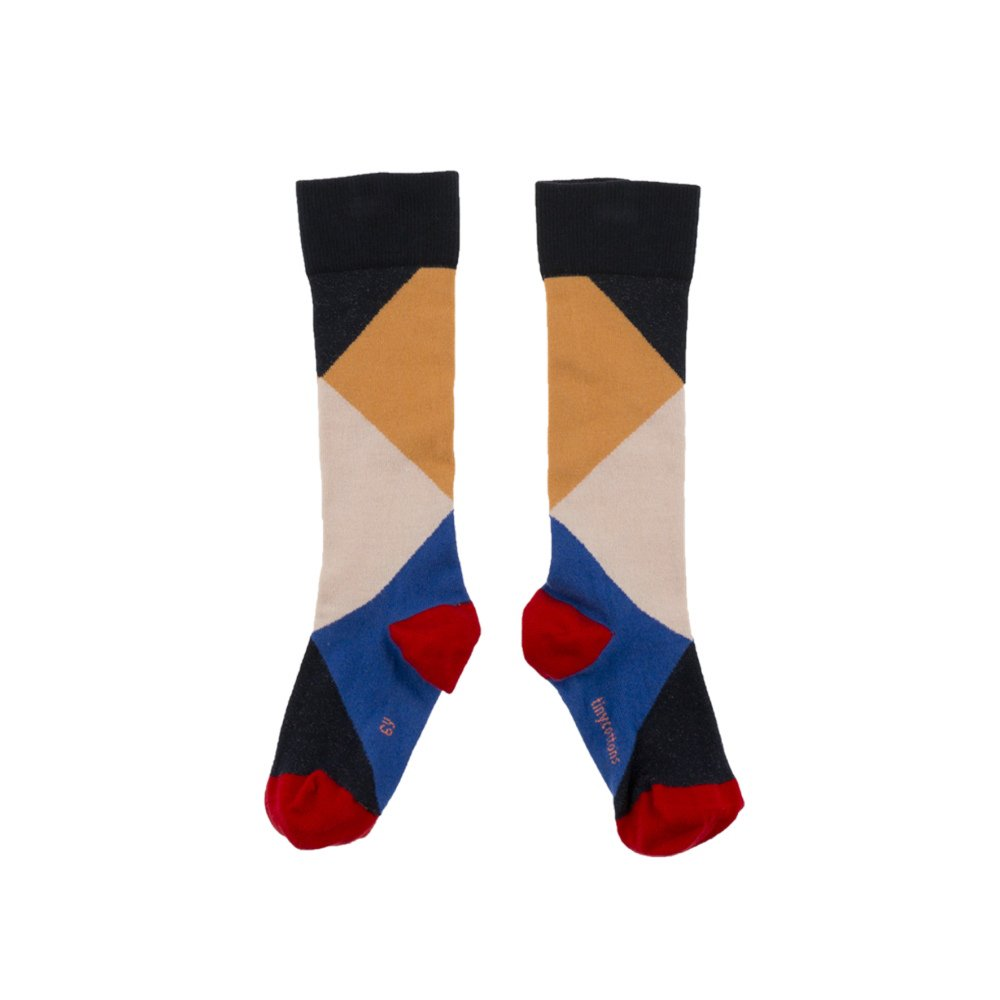 【MORE SALE 40%OFF】No.278 geometric high socks img