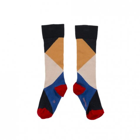 No.278 geometric high socks