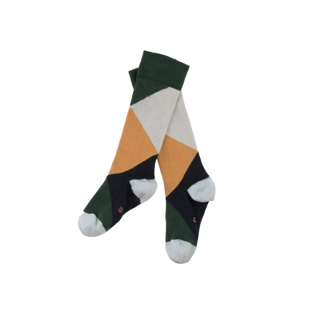 【MORE SALE 40%OFF】No.279 geometric high socks img