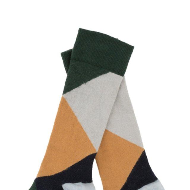 【MORE SALE 40%OFF】No.279 geometric high socks img1