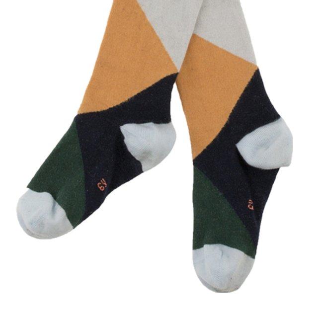 【MORE SALE 40%OFF】No.279 geometric high socks img2