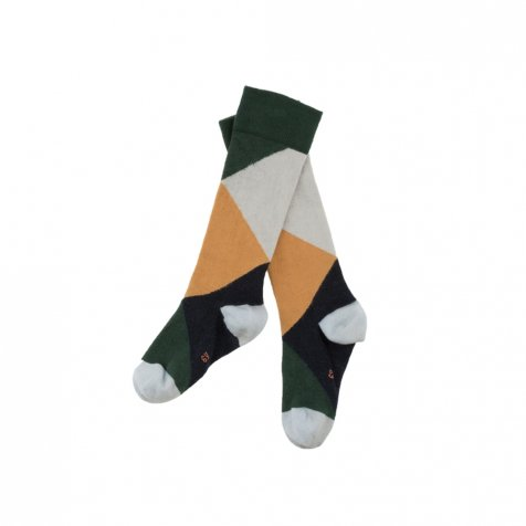 【入荷前ご予約販売-1st】No.279 geometric high socks