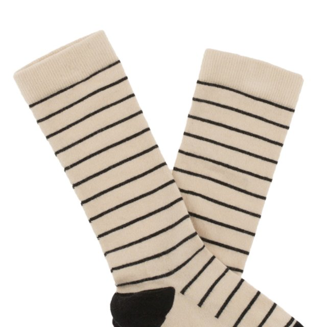 【MORE SALE 40%OFF】No.281 stripes high socks img1