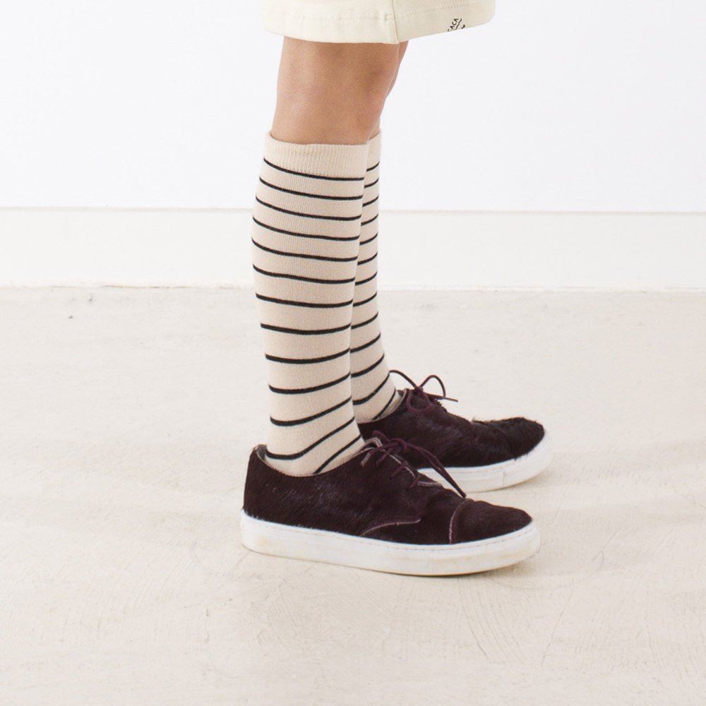 【MORE SALE 40%OFF】No.281 stripes high socks img3