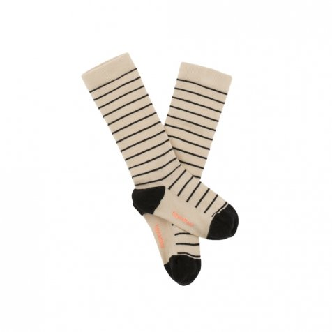 No.281 stripes high socks