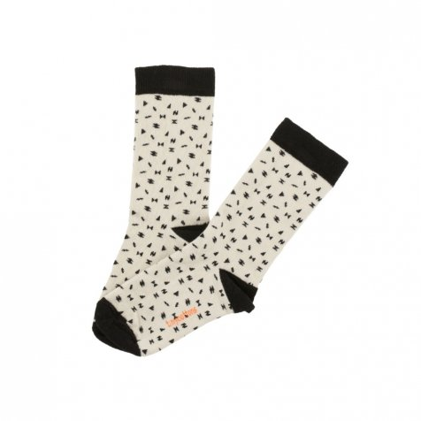 No.291 folk elements socks