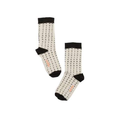 No.292 alphabet soup socks