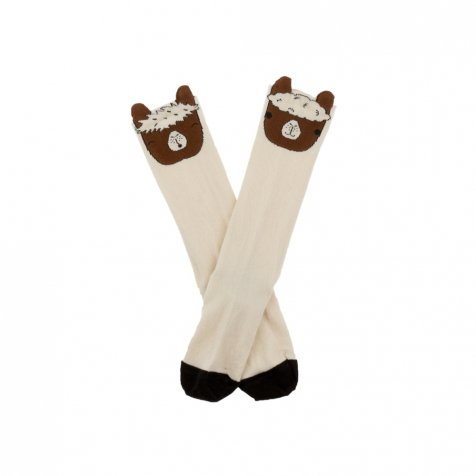 No.294 llamas heads high socks