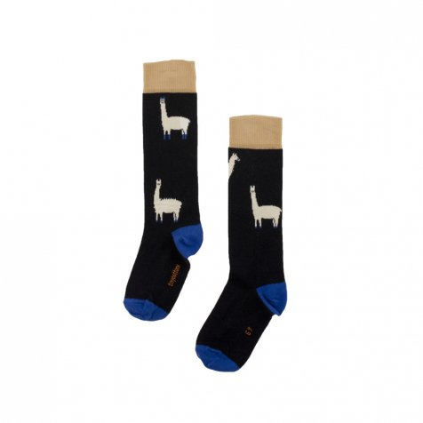 【SALE 30%OFF】No.295 llamas hairy high socks