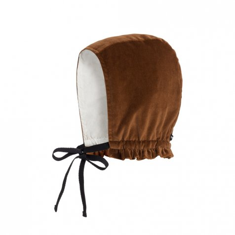 【SALE 30%OFF】Baby Rose's Velvet Bonnet COPPER