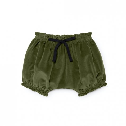 【WINTER SALE 50%OFF】Baby Rose's Velvet Culotte SOFT GREEN
