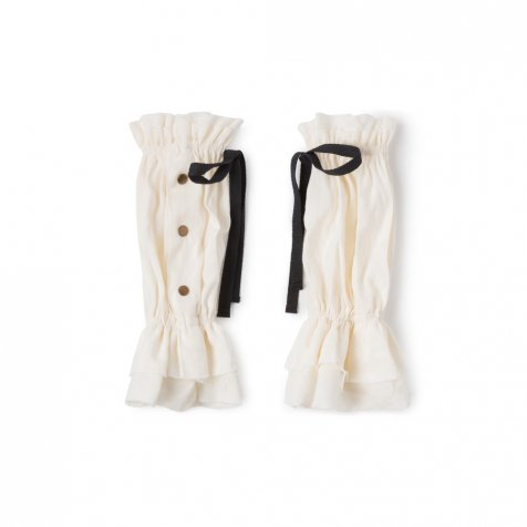 【WINTER SALE 50%OFF】Lucia's Oversleeves IVORY