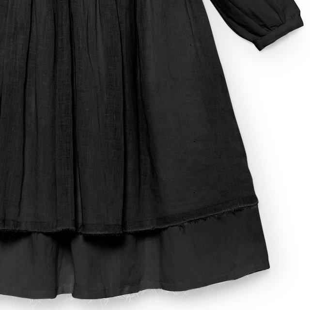 【50%OFF】Nicole's Ruffled Dress SLATE img3