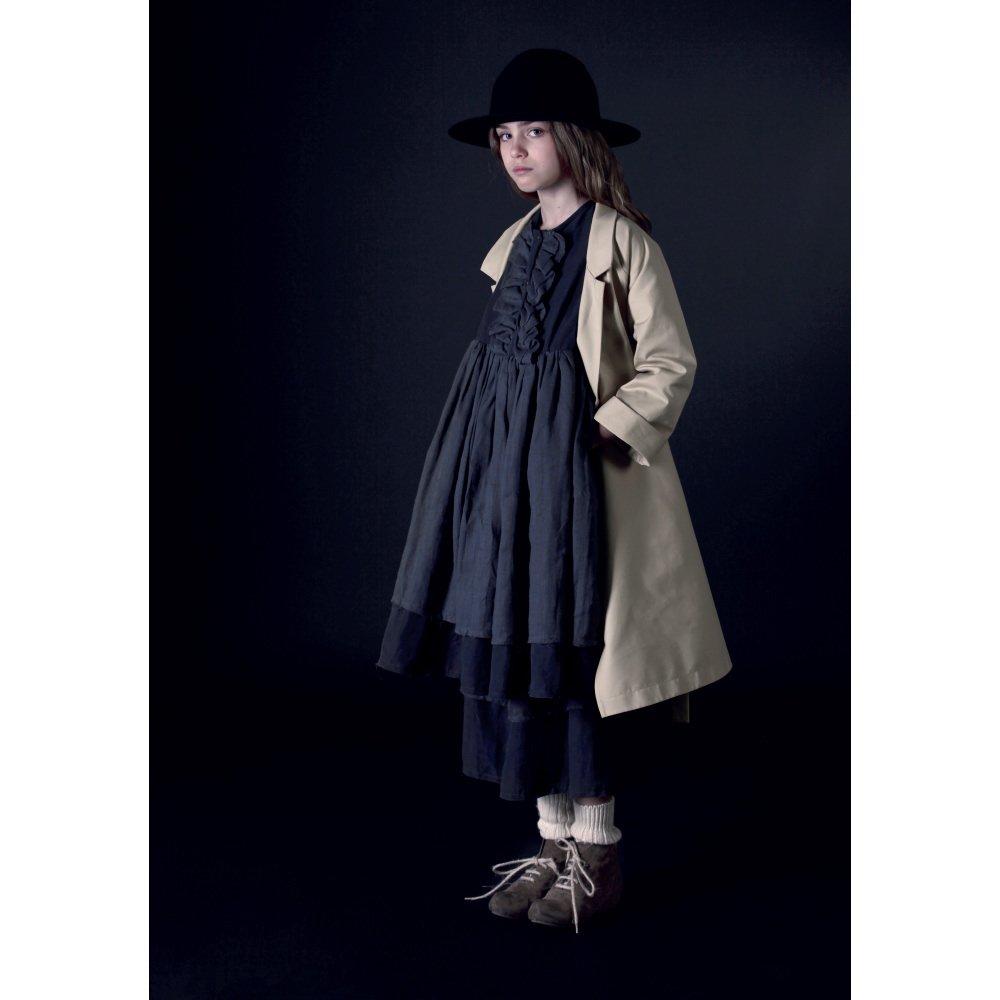 【50%OFF】Nicole's Ruffled Dress SLATE img5