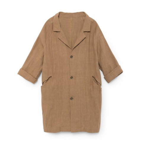 Noahn's Overcoat MUDDY BROWN