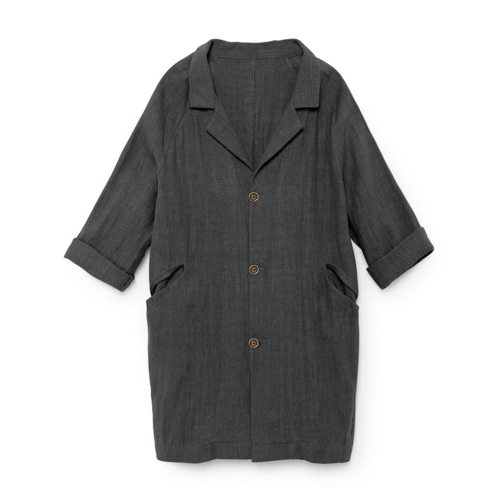 【MORE SALE 40%OFF】Noahn's Overcoat SLATE img