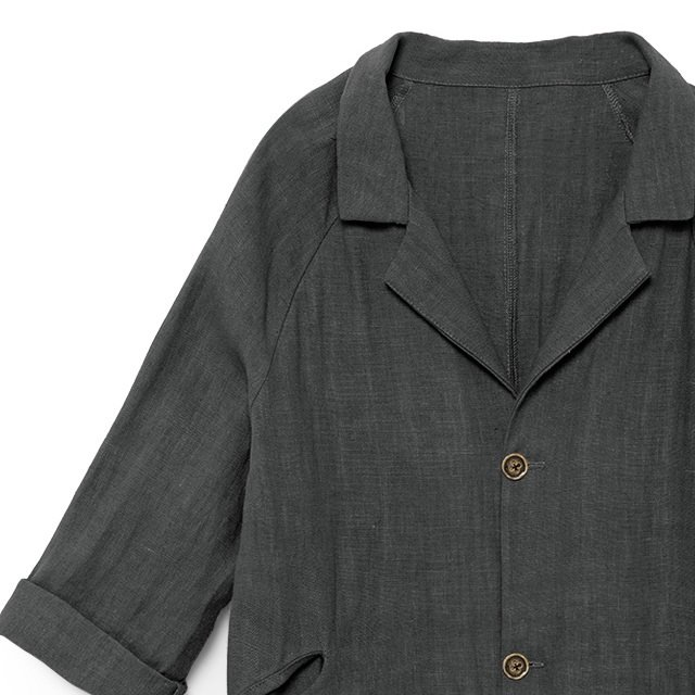 【MORE SALE 40%OFF】Noahn's Overcoat SLATE img1