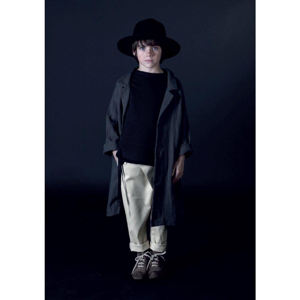【MORE SALE 40%OFF】Noahn's Overcoat SLATE img3