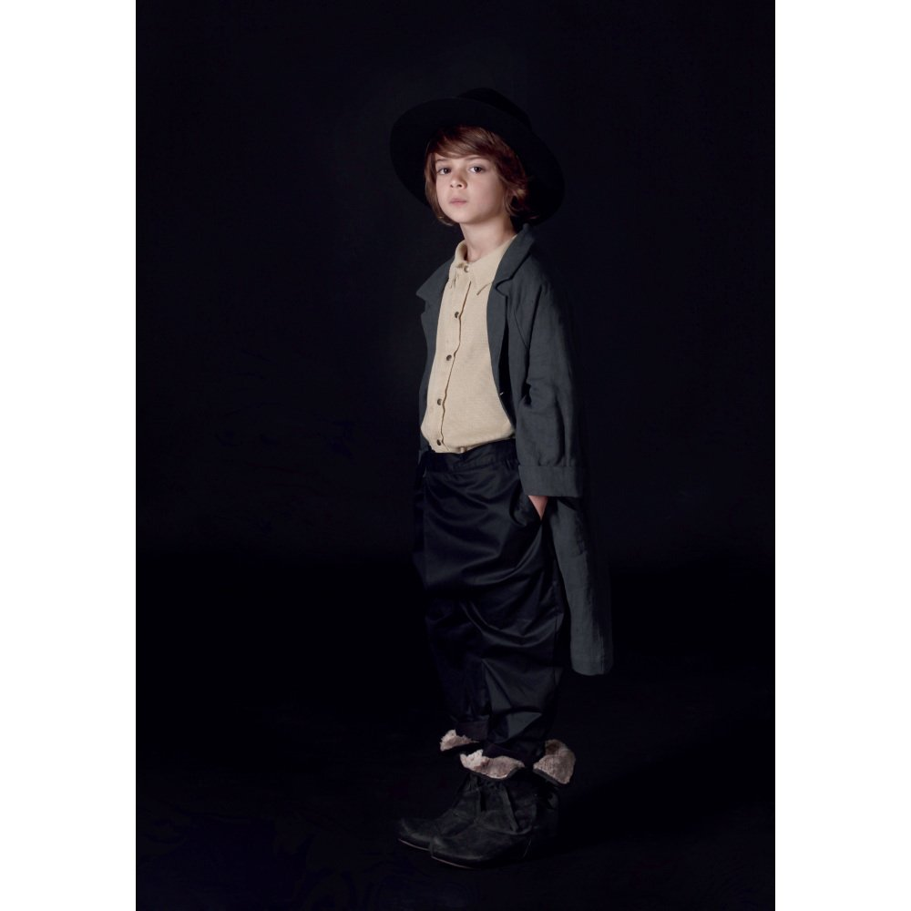 【MORE SALE 40%OFF】Noahn's Overcoat SLATE img5