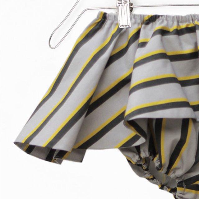 【60%OFF】ELINA BB SHORT Striped print img2