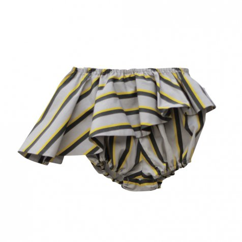 【MORE SALE 50%OFF】ELINA BB SHORT Striped print