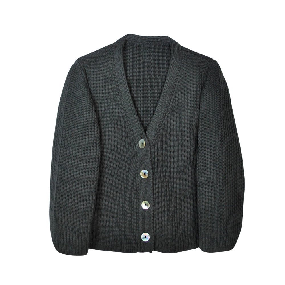 【SUMMER SALE 50%OFF】LEO Cardigan Carbone img