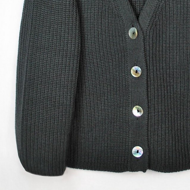【SUMMER SALE 50%OFF】LEO Cardigan Carbone img2